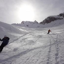 Kreuzspitzkamm (Stubaier Alpen) 2560m