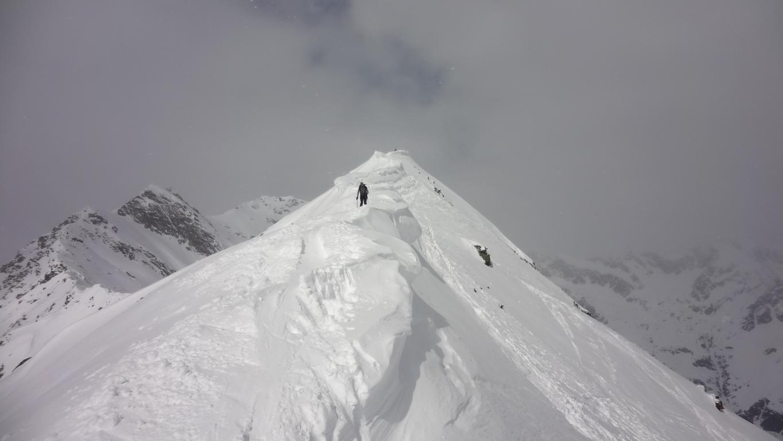 Ellesspitze 2661 m, vom Weiler Stein im Pflerschtal